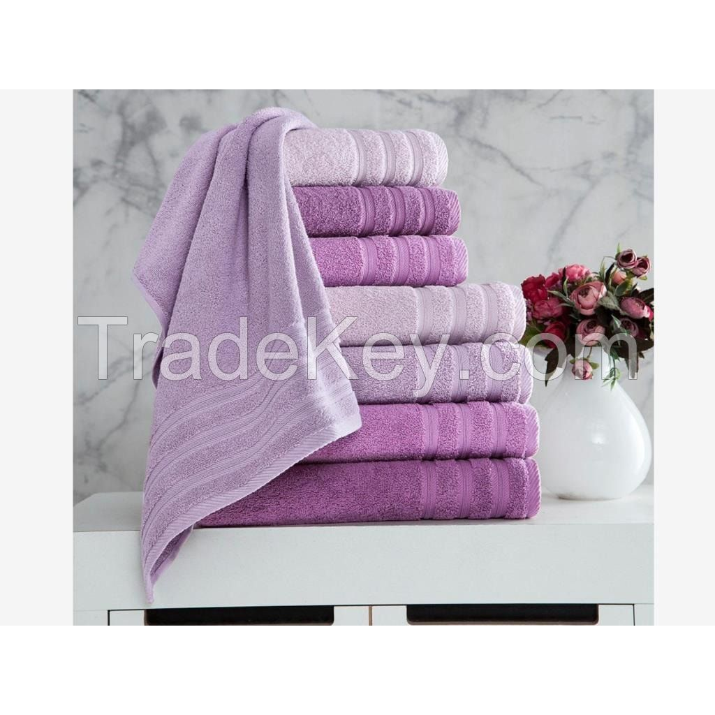 100% Cotton Woven Bath Towel