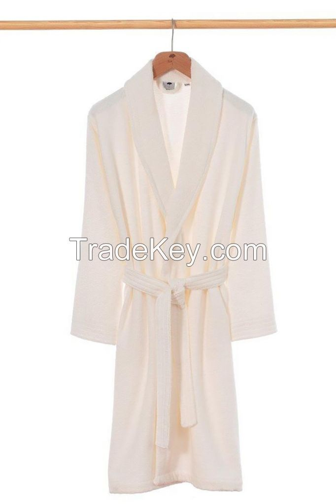 Turkish %100 Cotton Fabric Woven Super Soft Bathrobes