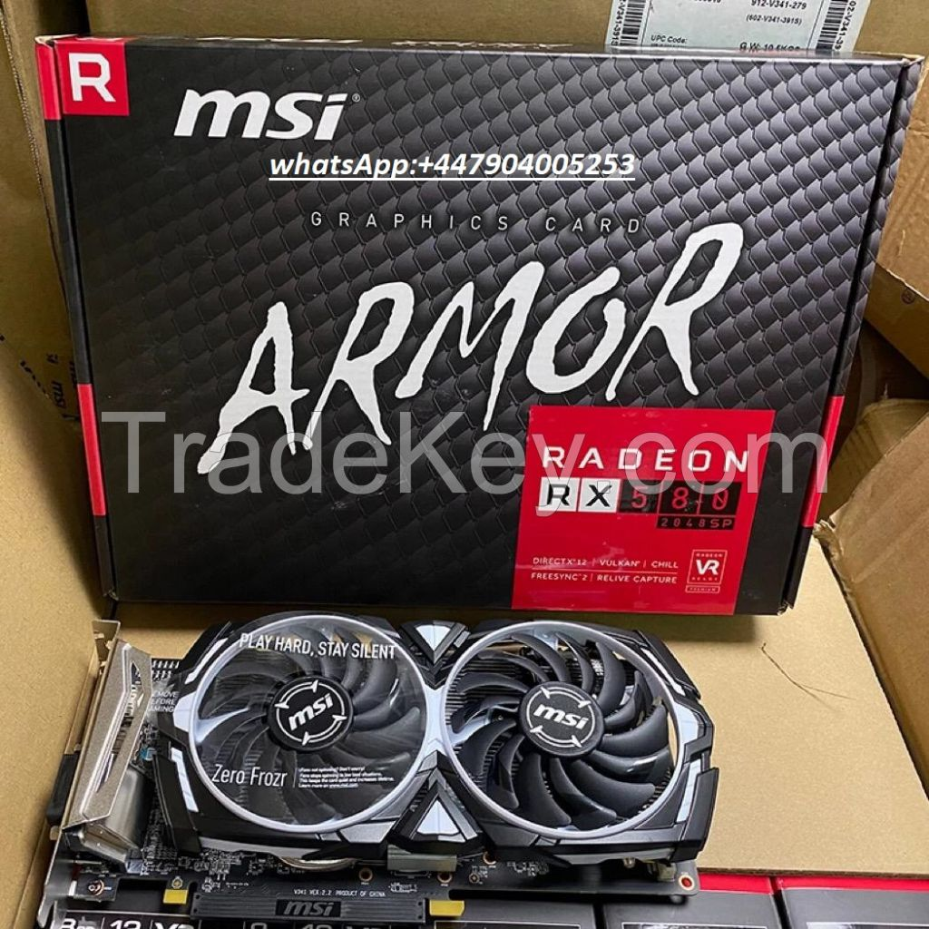 New Arrival Graphic Card for Gaming and Mining MSI RX580 8GB Armor SP GPU