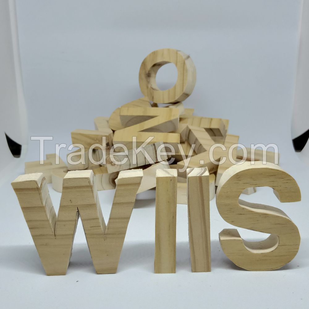 Custom Wood Lettering