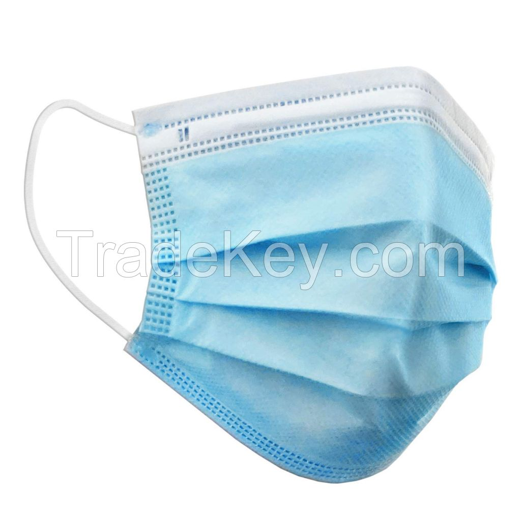 3Ply Disposable Face Mask for sale