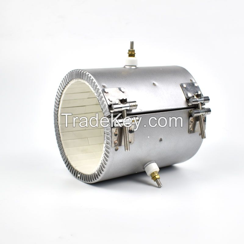 Extruder Injection Molding Plastic Machine 220V 1.5Kw Electric Heating Element Ceramic Coil Band Heater