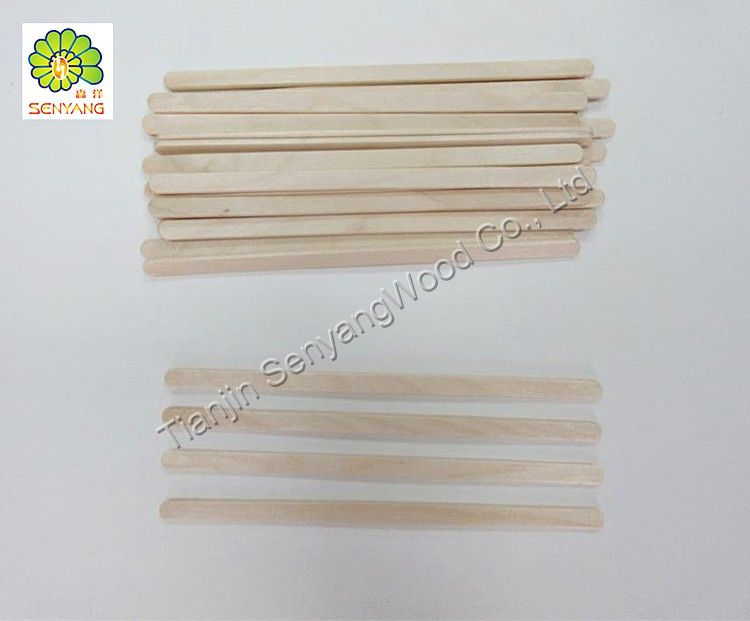 disposable food grade birch wooden coffee stirrer sticks
