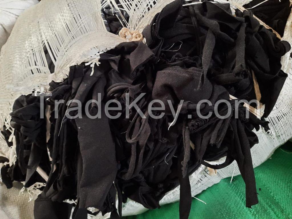 Fabric cotton, TC, Elastic cutting Waste
