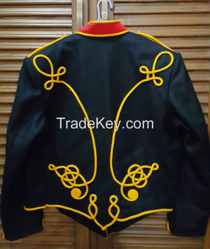 Royal military jacket/RMU tunic/British marching band uniform