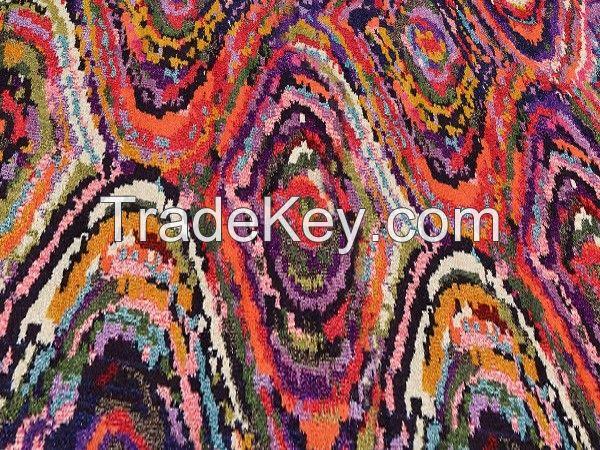 Baykilim 120x180cm Digital Printing Decorative Non-Slip Floor Rug