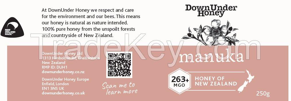 Manuka Honey New Zealand MGO 250