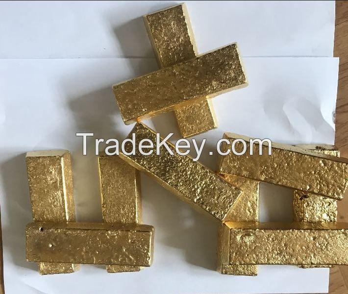 Au Gold Bars - Hi Purity - 22K / 24K Carat