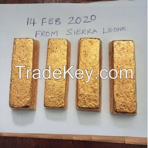 Sierra Leone Gold Bars - Gold Dust - Gold Nuggets