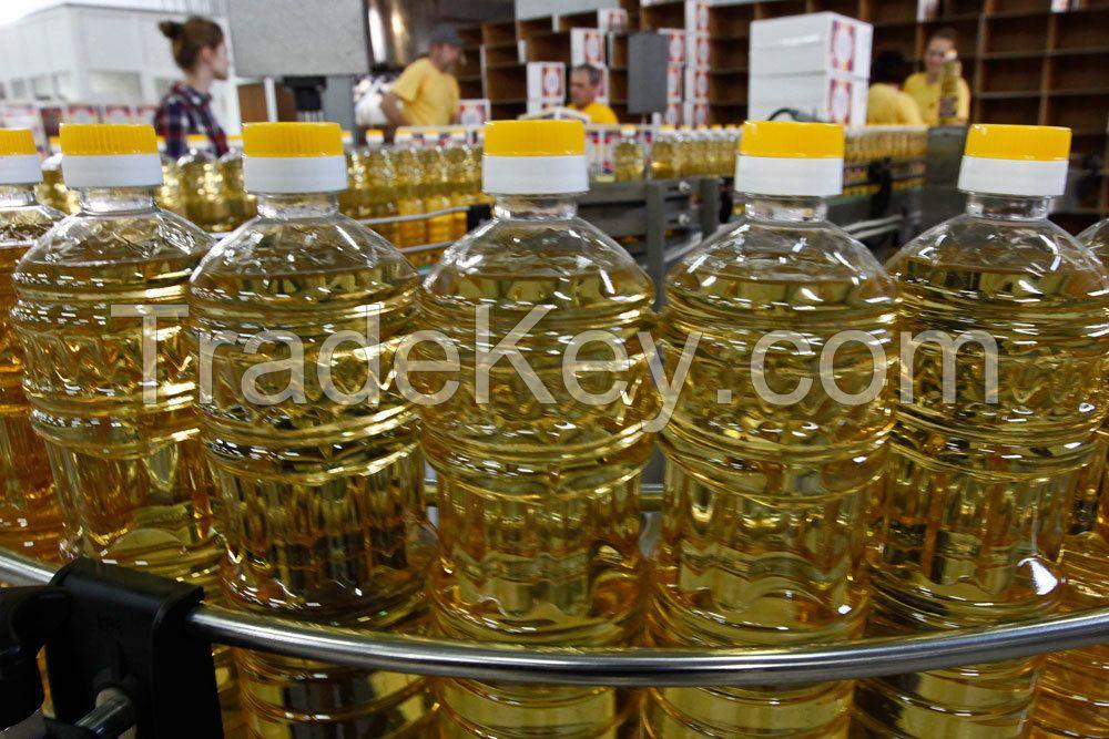 Rapseed / Canola oil, Sunflower oil, Soyabean oil, Peanut oil