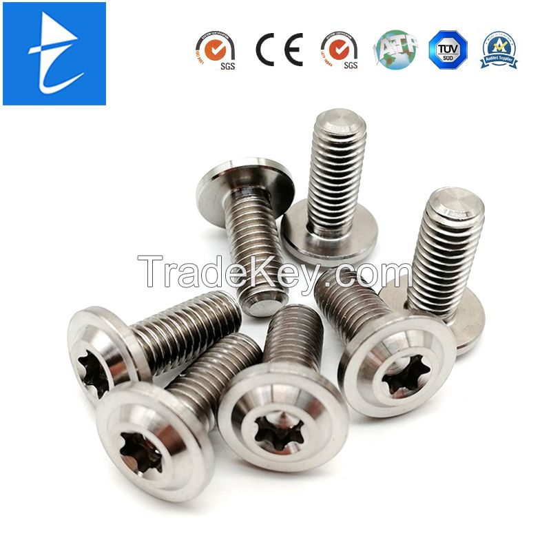 Fastener Custom Metal Stainess Steel Zinc Plated Full Thread Socket Head Shoulder Screw