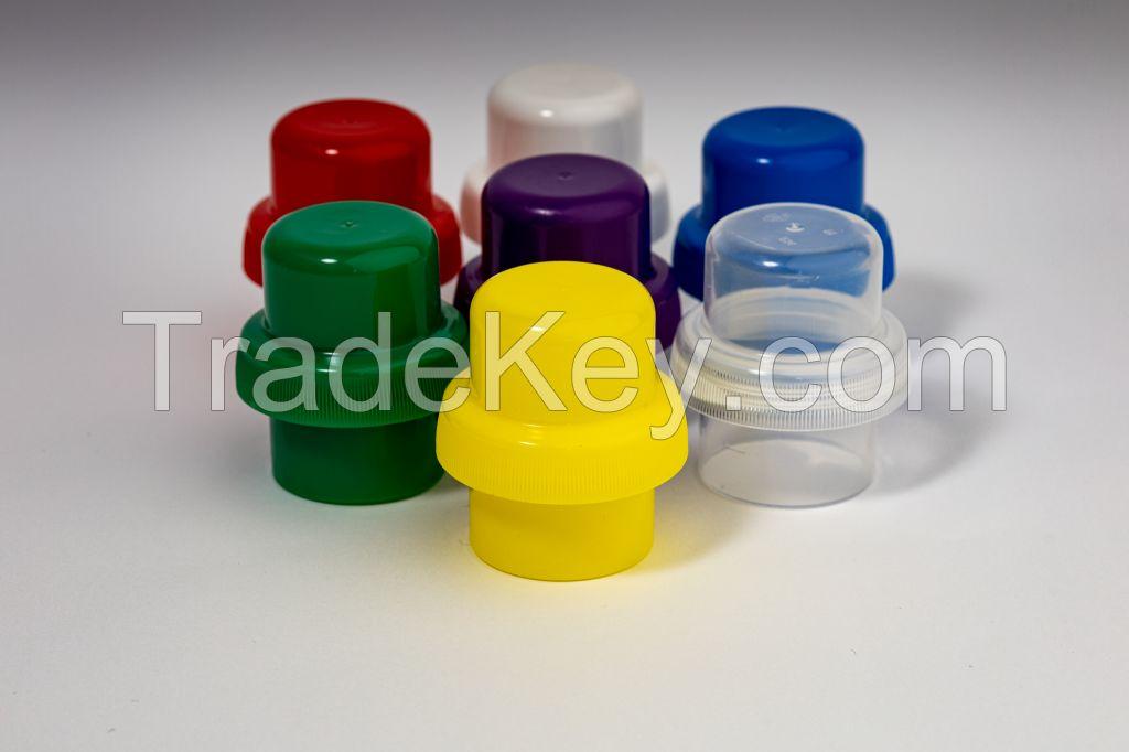 Pp Cap For Bottle Of Liquid Detergents