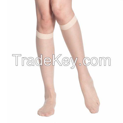 [DeParee] Ultra Sheer Monofilament Knee Highs, 15D