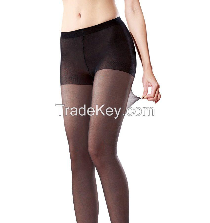[DeParee] Magic Sheer Durable Sandal Toe Pantyhose