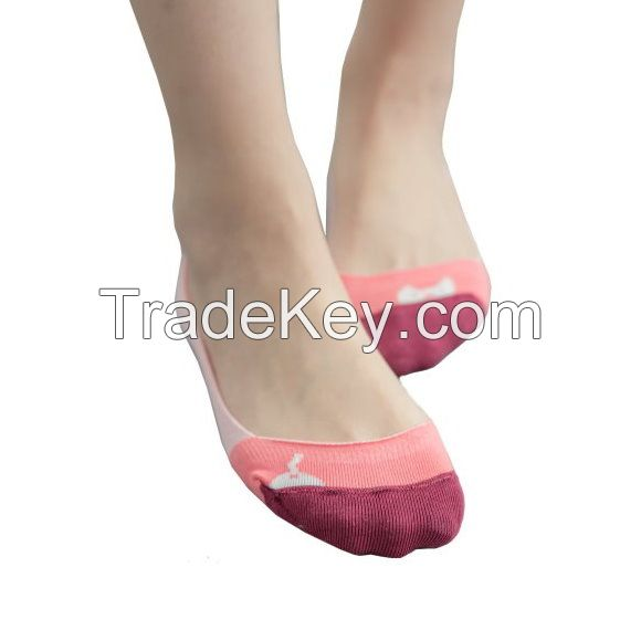 [DeParee] Women Cotton Footie Socks  ( Slip Resistant )