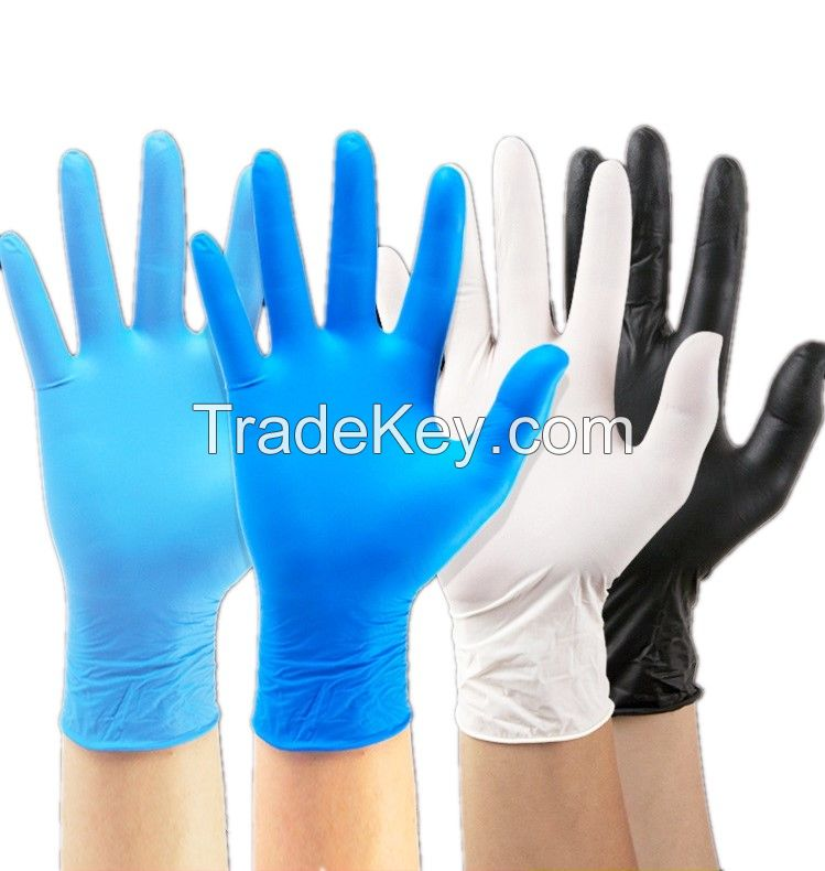 High quality Nitrile Surgical Gloves safety gloves Disposable no Powder Work Gloves