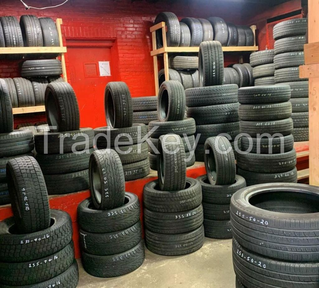 Used  PCR and SUV Tyres Available