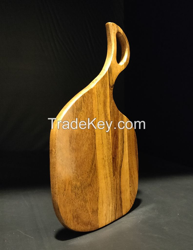 WOODN Acacia Wood Chopping Board || Water Proof || Food Safe || Cutting || Slicing