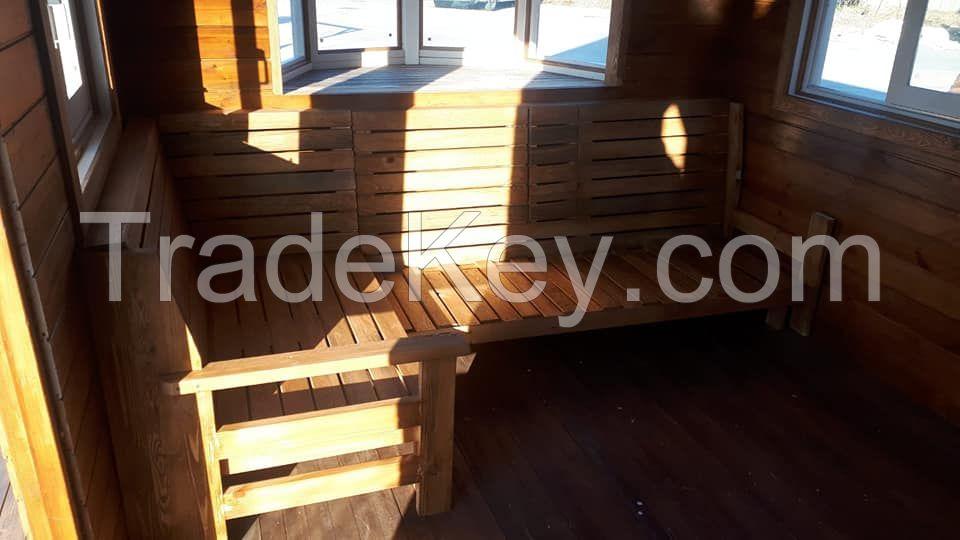 Wood Caravan