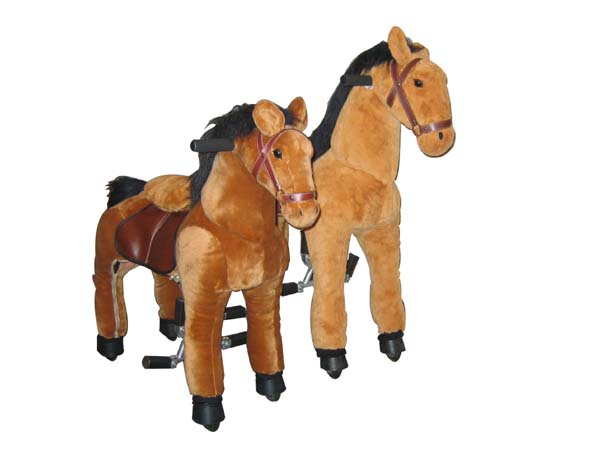 ride-on horse toy