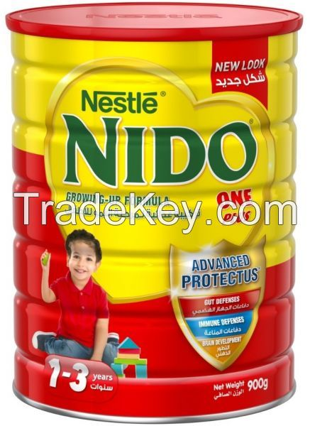 Nido milk powder for sale 1,2,3,4,5 standard baby milk formula bulk quantity available
