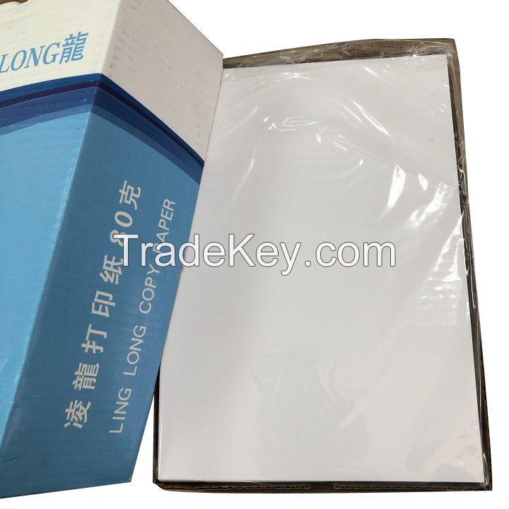 A4 Copy paper (all type) Double A4 copy paper 70gsm 80gsm A4 bisector paper for laser printer