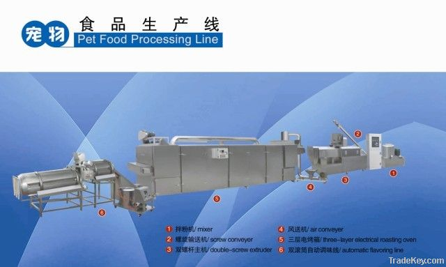pet food(dog food and fish feed)processing line