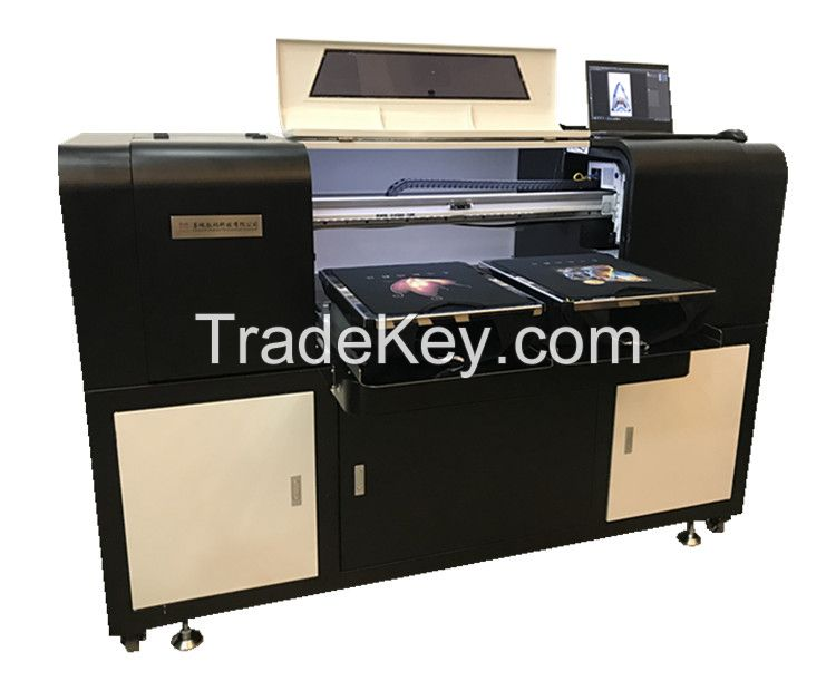 Hot Sell  cmyk Double Pallets Digital Textile Printing Machine with EPSON printing heads