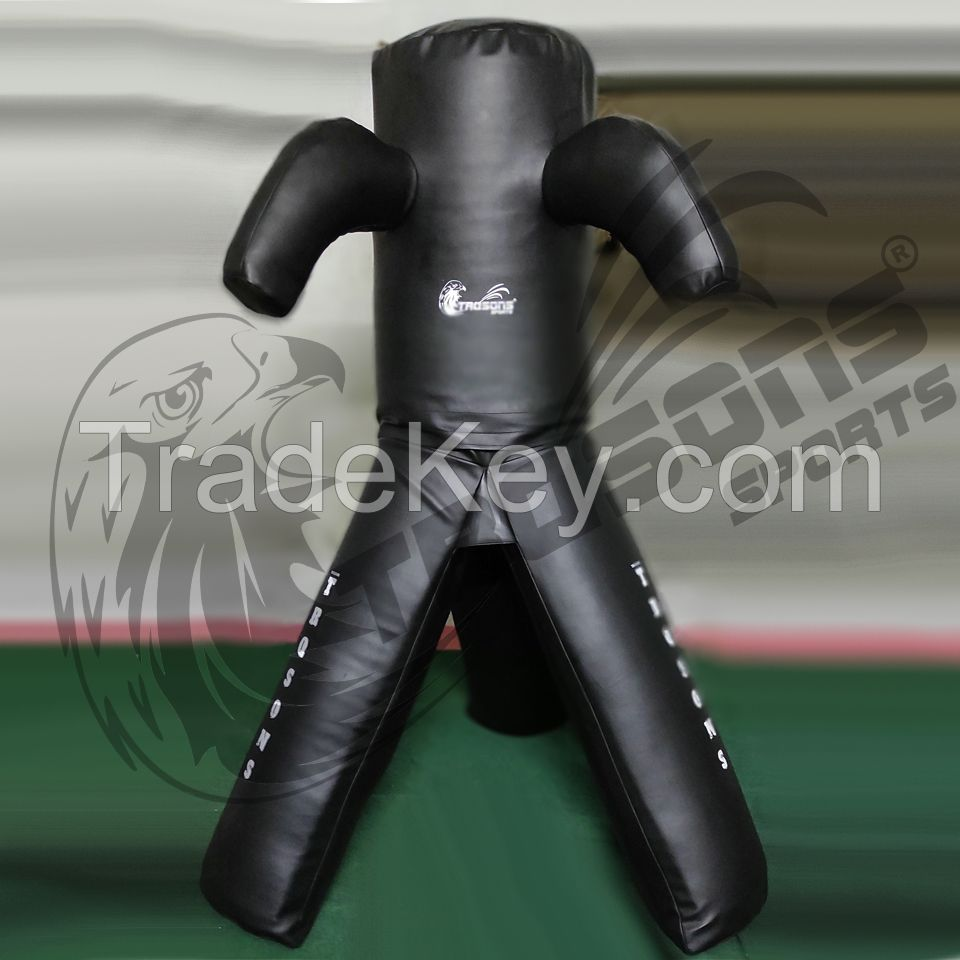 TRQSONS Free standing Tri-Leg Punching, Grappling And Throwing Dummy
