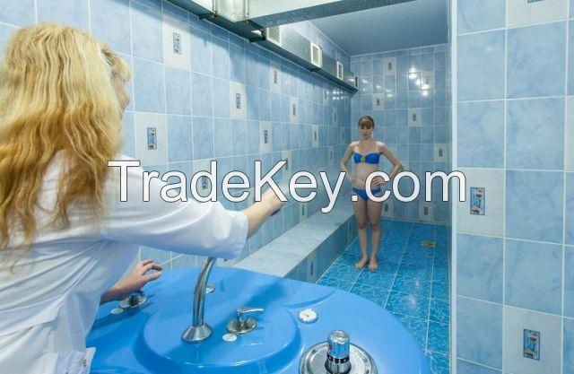 Vuoksa Charcot shower (model Economy Optima)