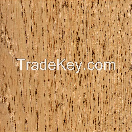 Structured wooden board for sauna