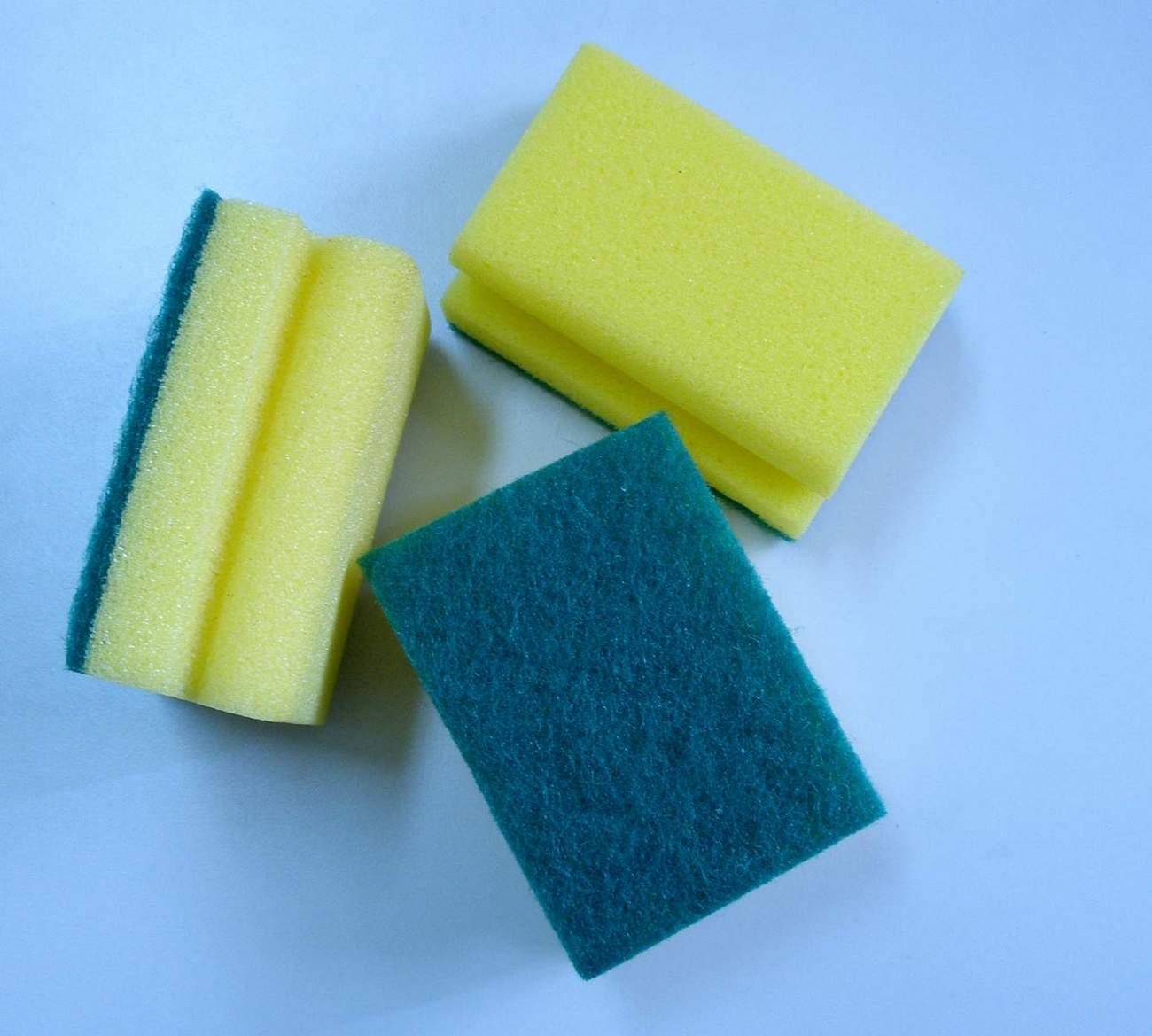 Sponge cleaning  pad