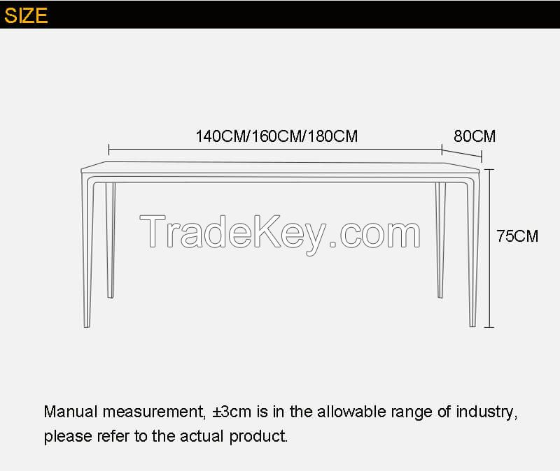 ANINZ ceramic top dining table