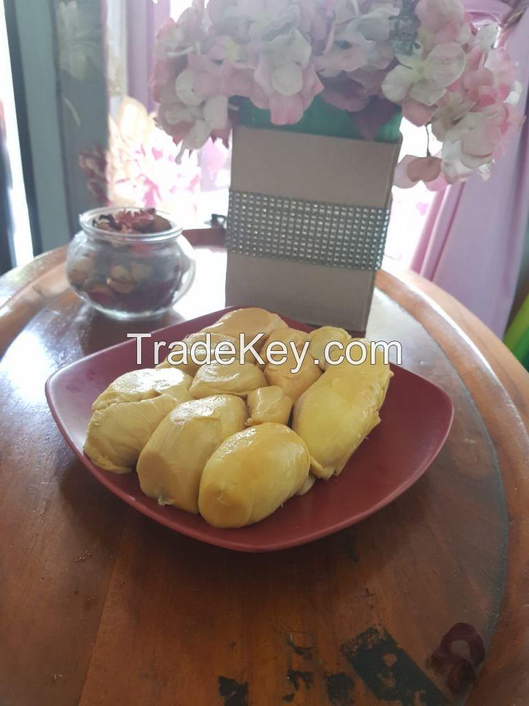 Peeled Durian Nias Indonesia
