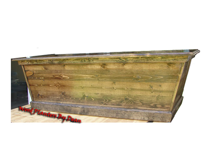 Pine Wood Planter Boxes