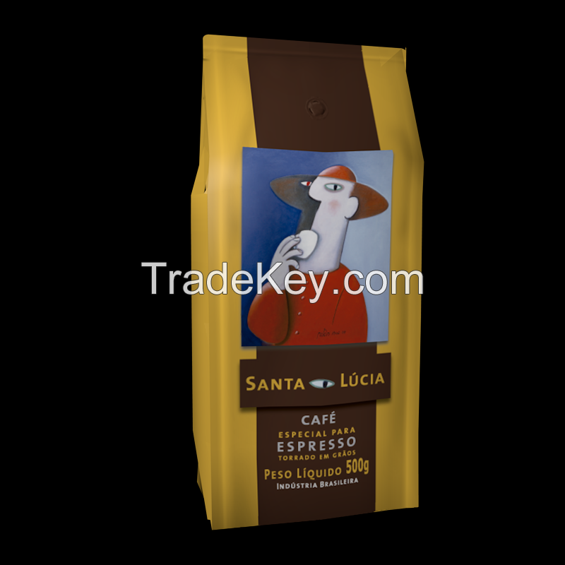 Specialty Roasted Coffee Origin (Beans 1kg/2.2lb or ground 500g/ 17,64oz):