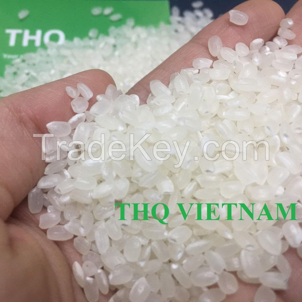 Japonica rice/Calrose rice/ Japanese rice from THQ Vietnam