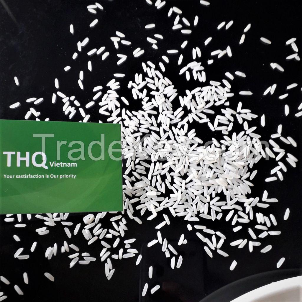 MUST TRY! Long grain white rice 5% broken/5451 rice from Vietnam - New crop