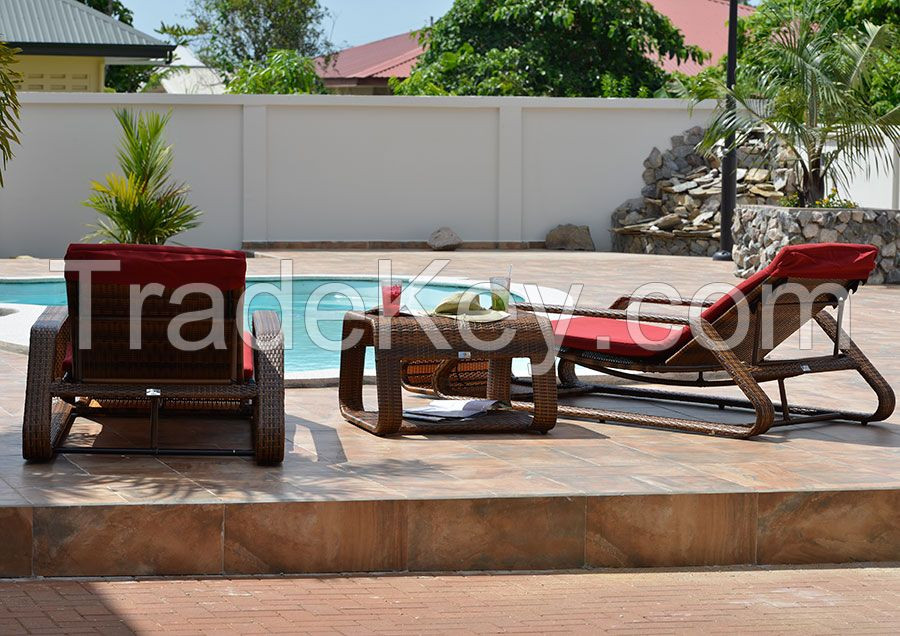 OUTDOOR SET SWEETIES FOR HOME 2020 MADE FROM RATTAN WICKER