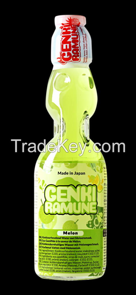 Melon Soda Ramune (Japan)