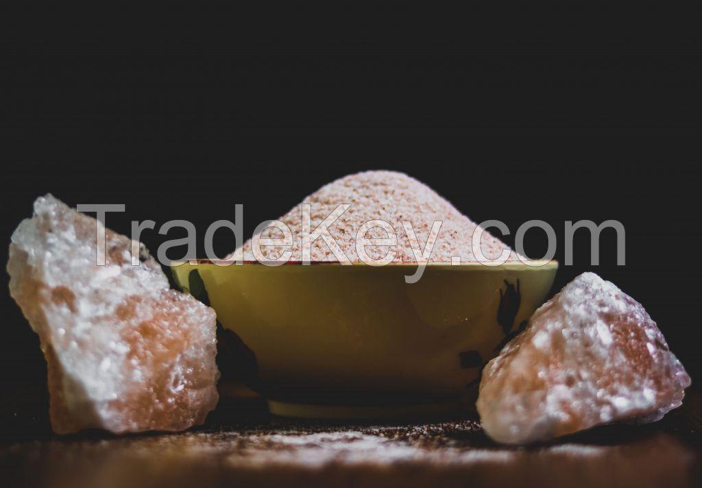 Himalayan Pink Salt (Fine Ground)-Unprocessed