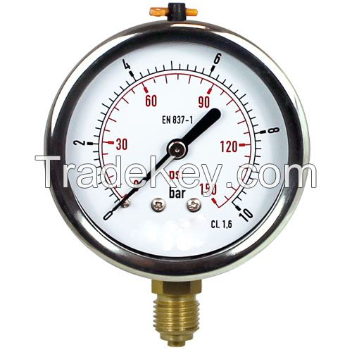 Glycerine-Filled Pressure Gauges