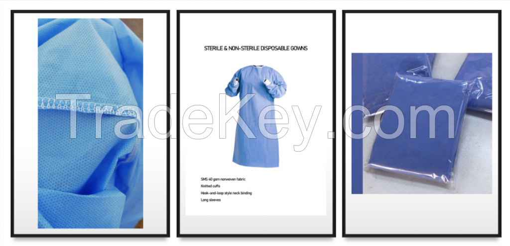 Sterile and Non-Sterile Disposable Gowns