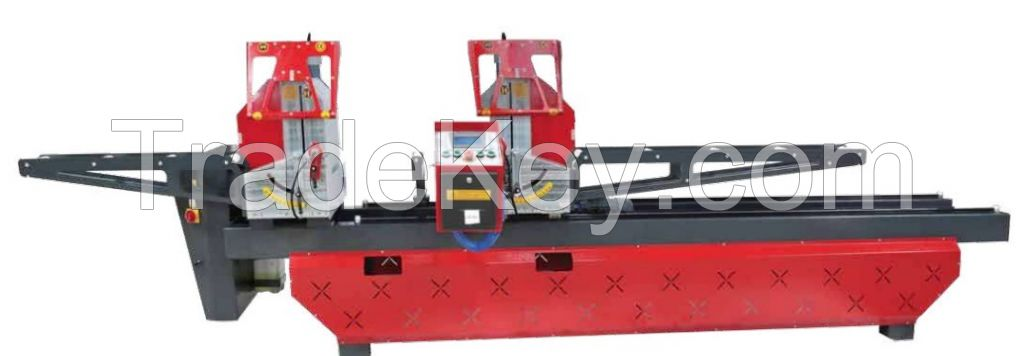 AUTOMATIC DOUBLE HEAD CUTTINGTOP TOUCH SCREEN