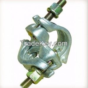 Bs1139 Clamp Scaffolding Double Coupler manufacture galvanized forged scaffolding coupler for construction