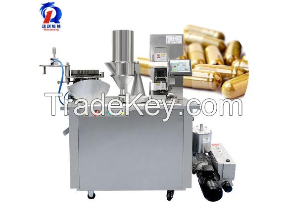 Semi-Auto Capsule Filling Machine Pharmaceutical Powder Hard Gel Capsule Filler Encapsulation CGN-208