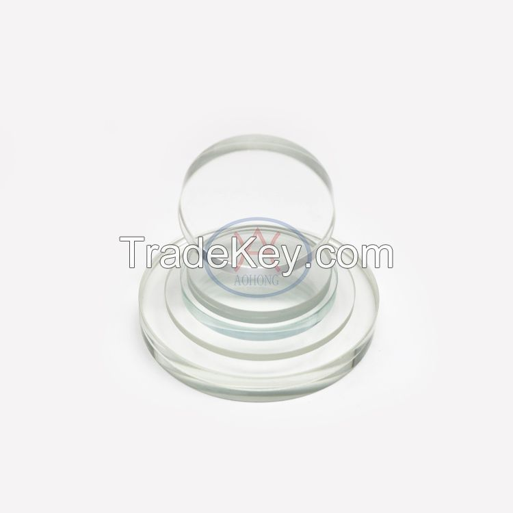 Aluminum Silicon Round Glass