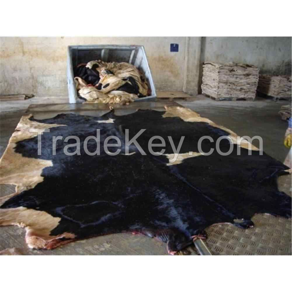 Beef and donkey hides