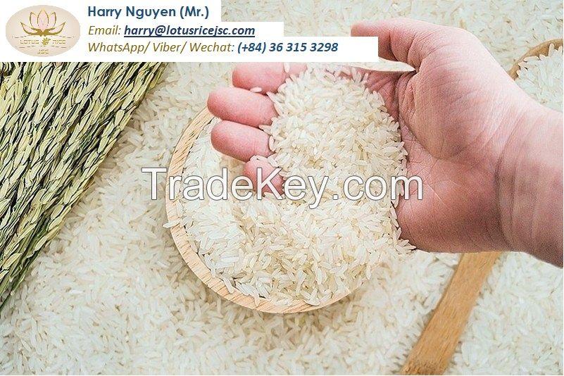 Jasmine Rice - 5% broken - 2021 Winter-Spring crop - Vietnam origin