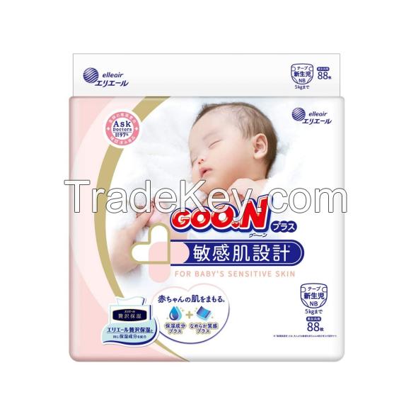 Baby diaper GOO.N Ventilation smooth pants